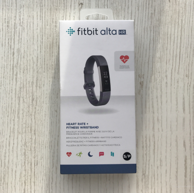 Фитнес браслет Fitbit Alta HR Blue Gray Small