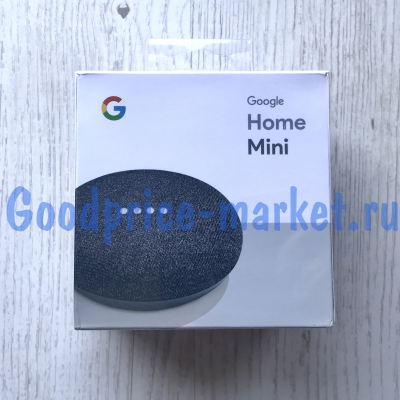 Умная колонка Google Home Mini (Charcoal)